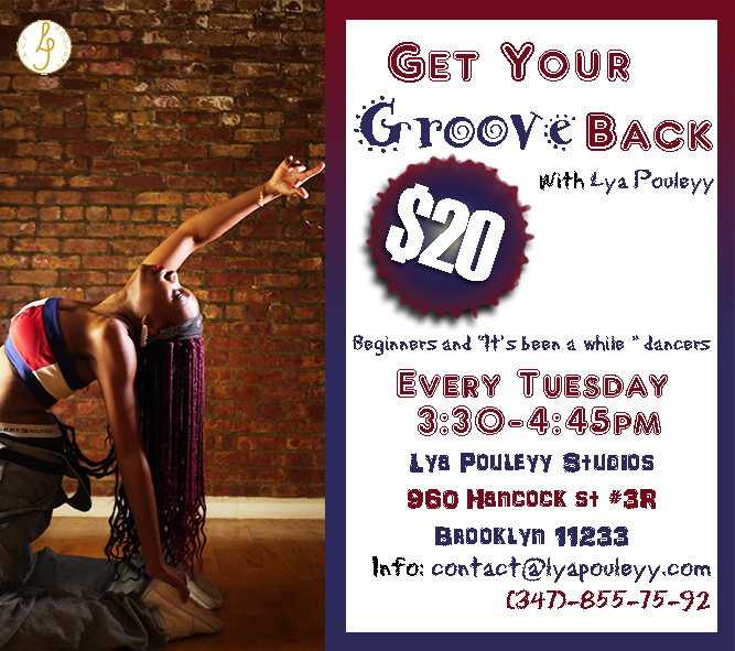Tuesday Flyer - Get Your Groove Back